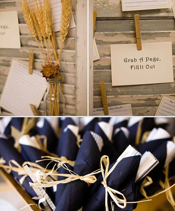 Cheap Rustic Vintage Wedding Shower Decor pictures