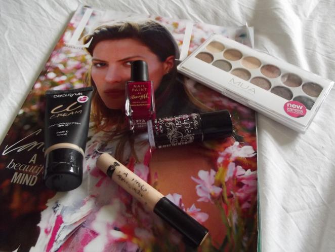 top 5 under £5 beauty products