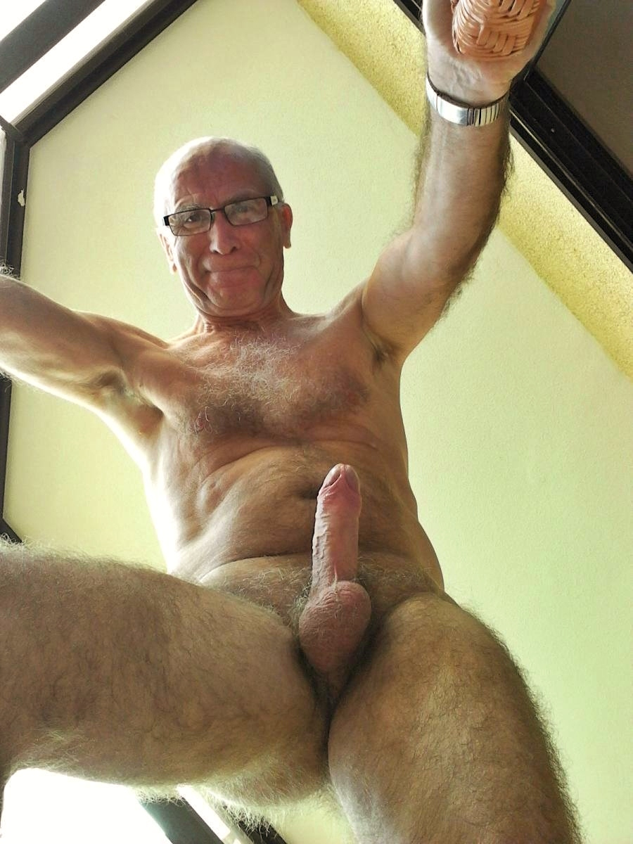 big hairy cock Grandpa