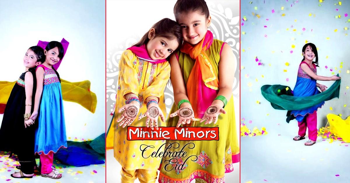 minnie minors eid collection 2012 for kids latest eid