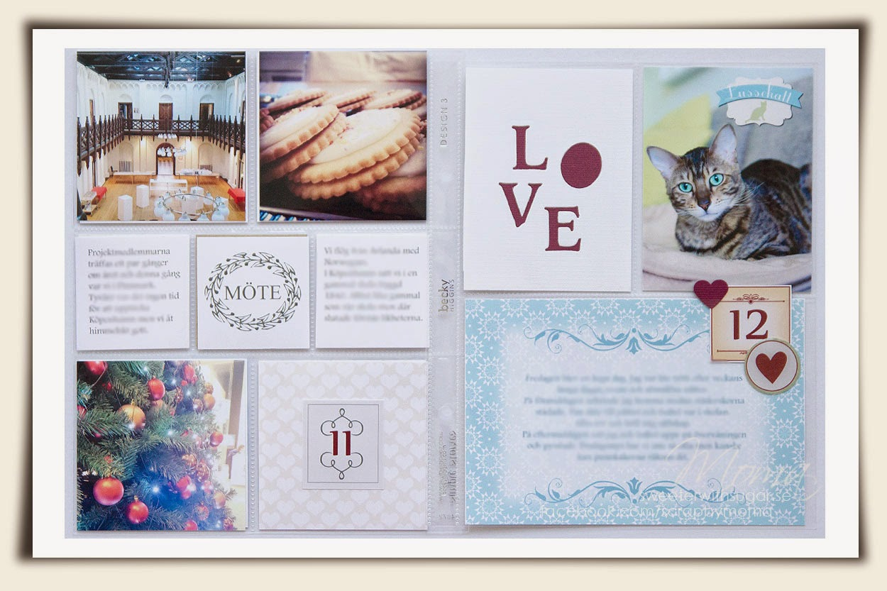 Project life, pocket scrapbooking, december daily, spellbinders, Becky Higgins, Simple stories