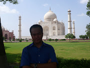 My Brother at the most wonderfull palace in India