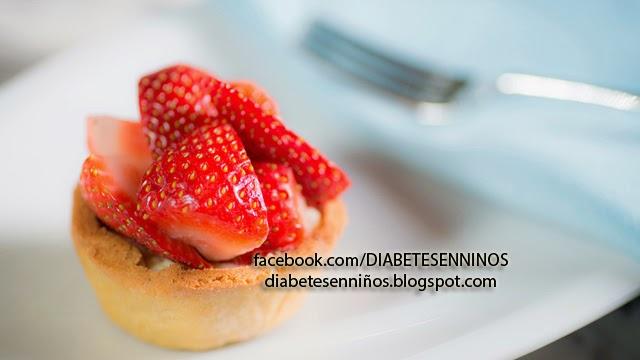 ¿Cómo hacer una tarta de fresa para diabéticos?