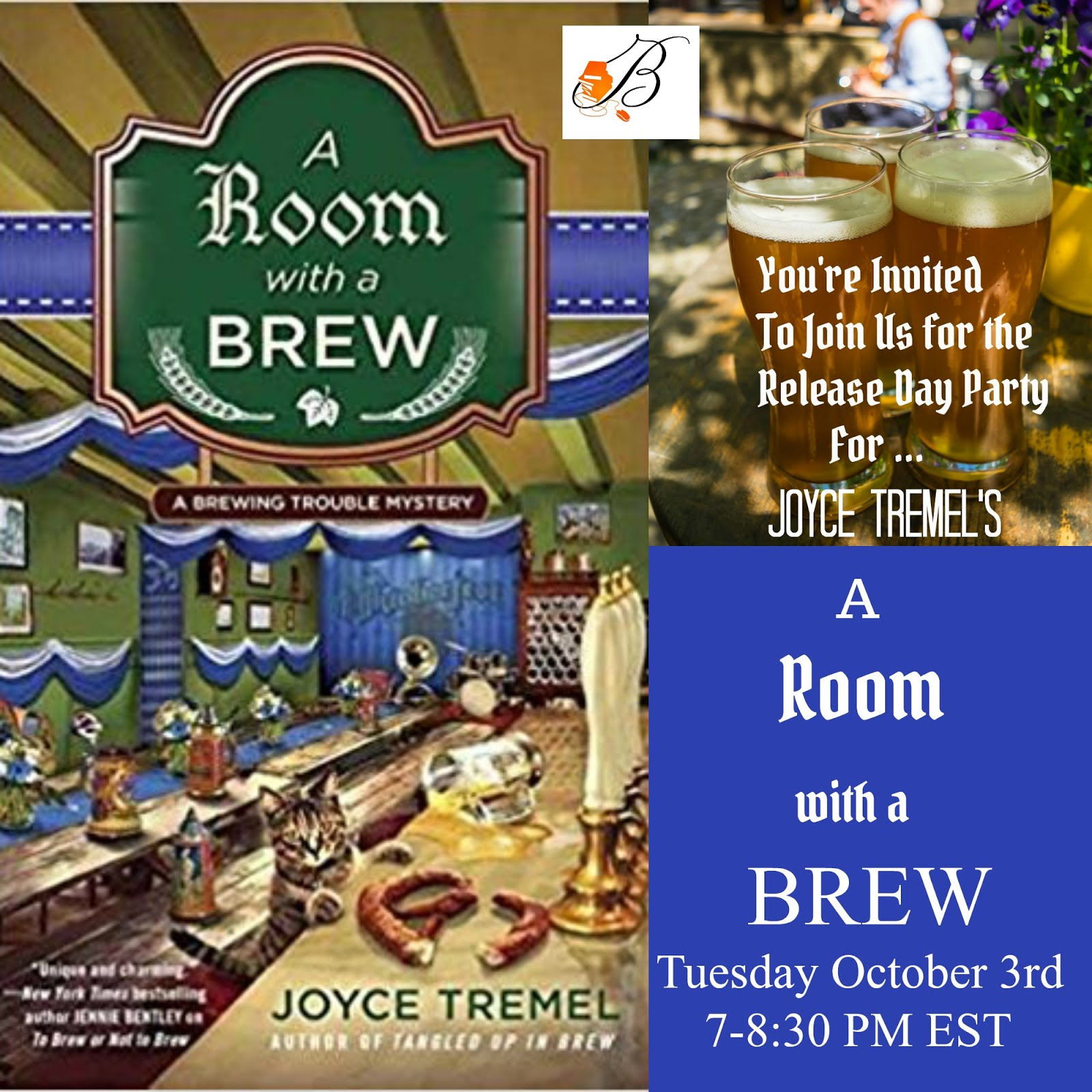 Join Us For A Release Day Party For A Room WIth A Brew