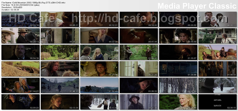 Cold Mountain 2003 video thumbnails