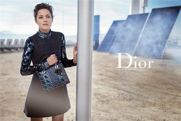 9740286a37c Dior launched a new Spring Summer 2015 Lady Dior bag large series of ads