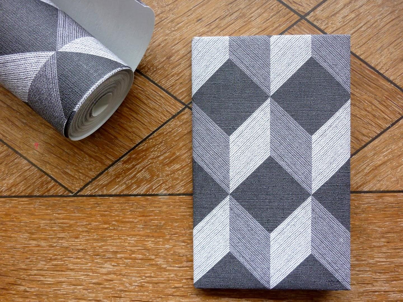 Géométrique 4 Murs - Papier Peint Forme Géométrique