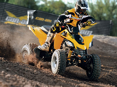 2012 Can-Am DS 250 ATV pictures. 480x360 pixels
