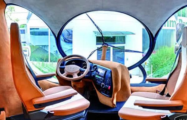 RUANG pemandu dalam kenderaan EleMMent Palazzo.
