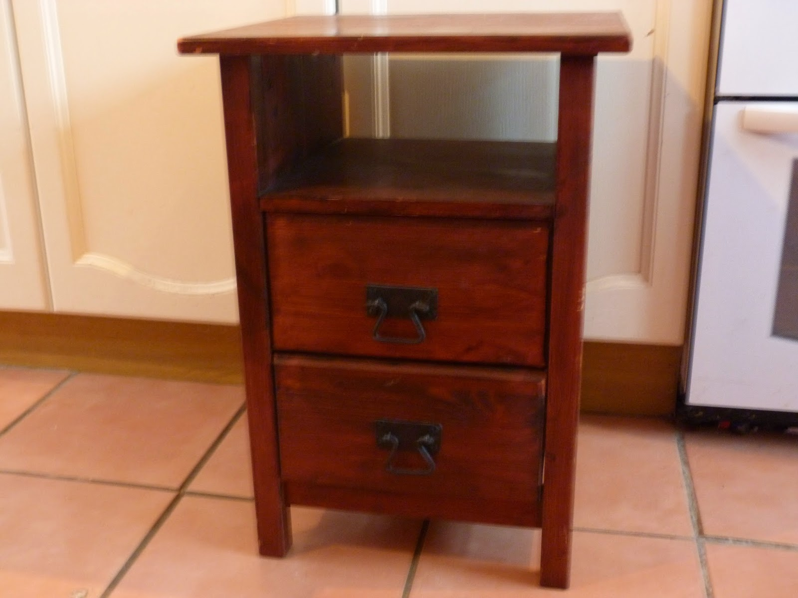 At Number 18 Upcycled Bedside Tables