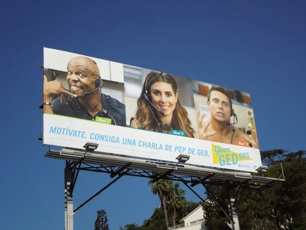 Your GED diploma billboard