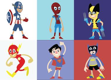 Kid Super heros