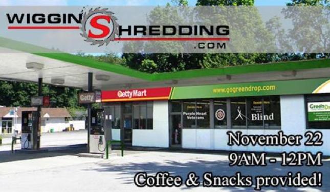Shredding Event in Media