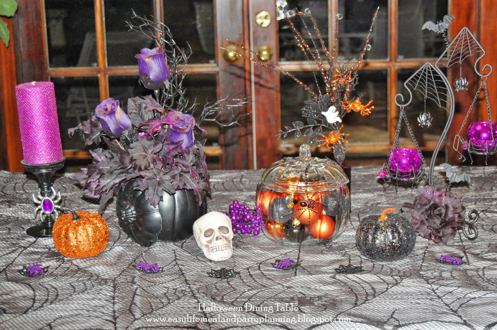 Easy life meal and party planning halloween decoration for Decoration halloween