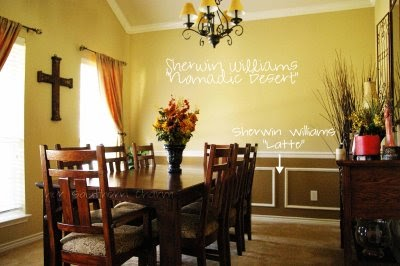 Colonial dining room colors kitchen paint colors and cute for Cute yellow kitchen ideas