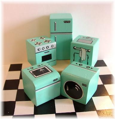 Miniature Appliance Set – A4Table – Glendale, AZ