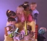 Propaganda da marca Pakalolo (moda para crianças), de 1991.