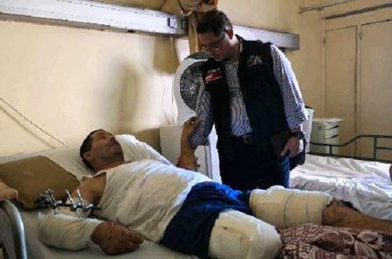 ACT besuk pasien Gaza di Kairo