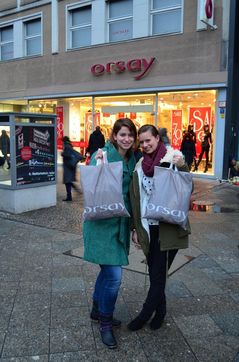 Mit der Gewinnerin bei Orsay