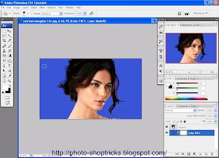 Removing Background in Photoshop