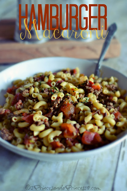 Hamburger Macaroni #Recipe