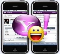 Đổi status Yahoo khi đăng nhập điện thoại