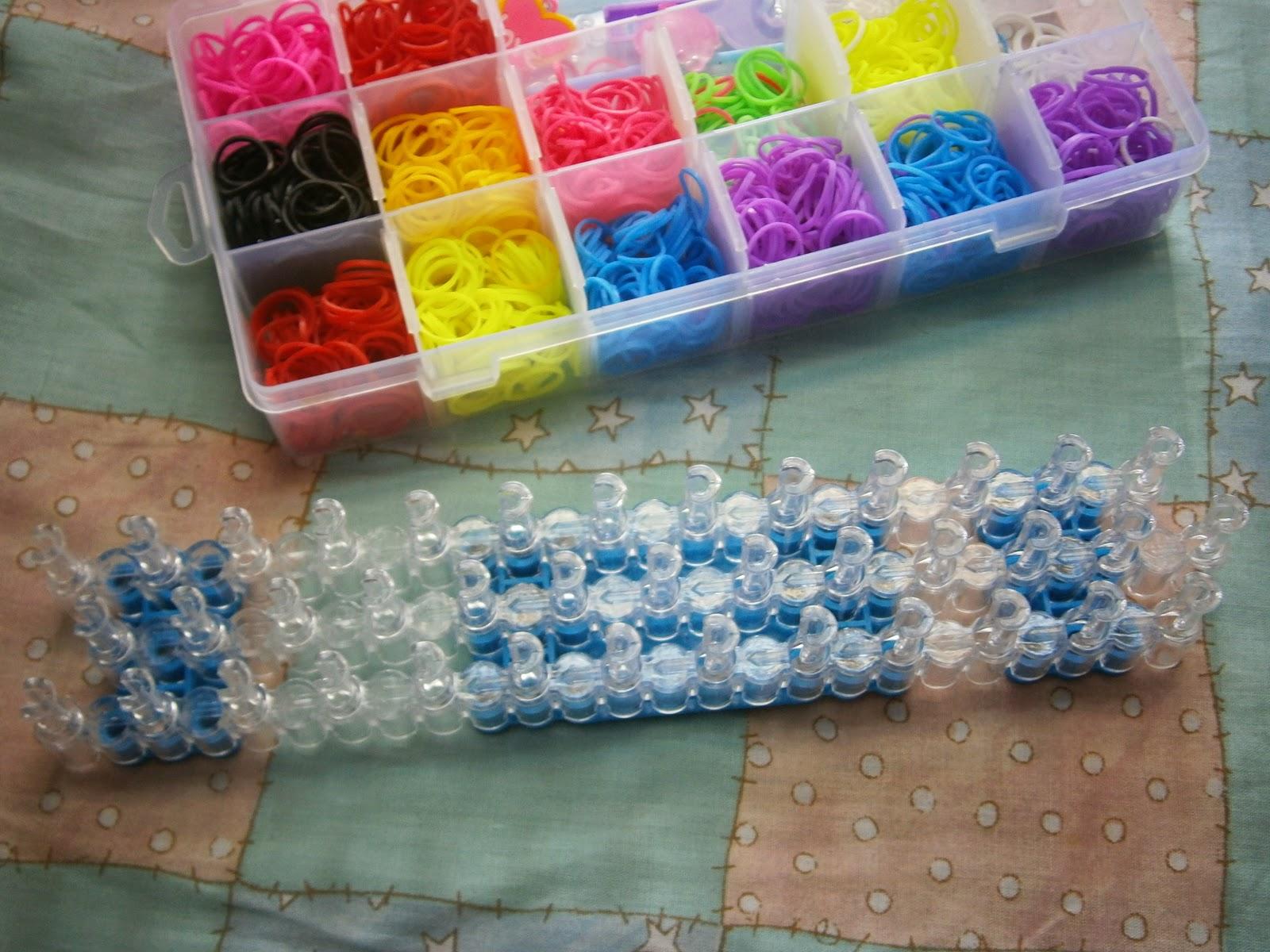 Наборы резинок со станком для плетения браслетов
