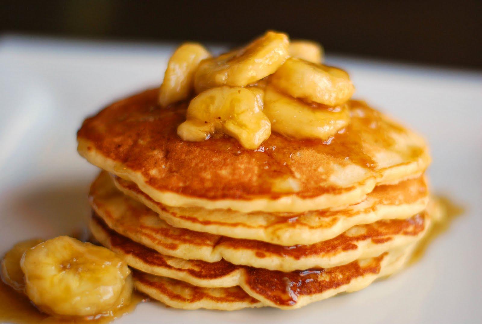 [Banana Recipe] How to make Banana Pancakes ? Banana ...