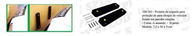 protetor para-choque automotivo Splody a venda na X11Auto e LA mercado livre