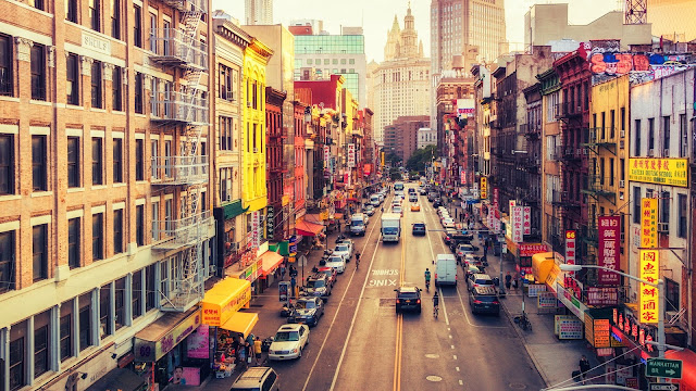 Chinatown NY HD Wallpaper