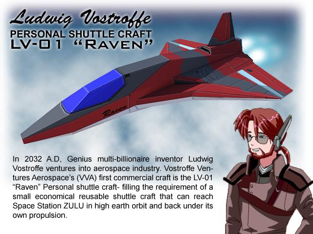 LV01 Raven Papercraft