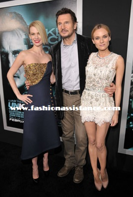 """Diane Kruger, January Jones y Kim Kardashian, en el estreno de """"Unknown"""" en Los Angeles"""