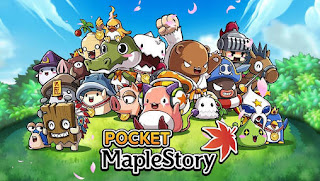 Screenshots of the Pocket maplestory for Android tablet, phone.