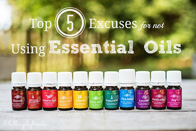 The Top 5 Excuses Why You Aren't Using Essential Oils