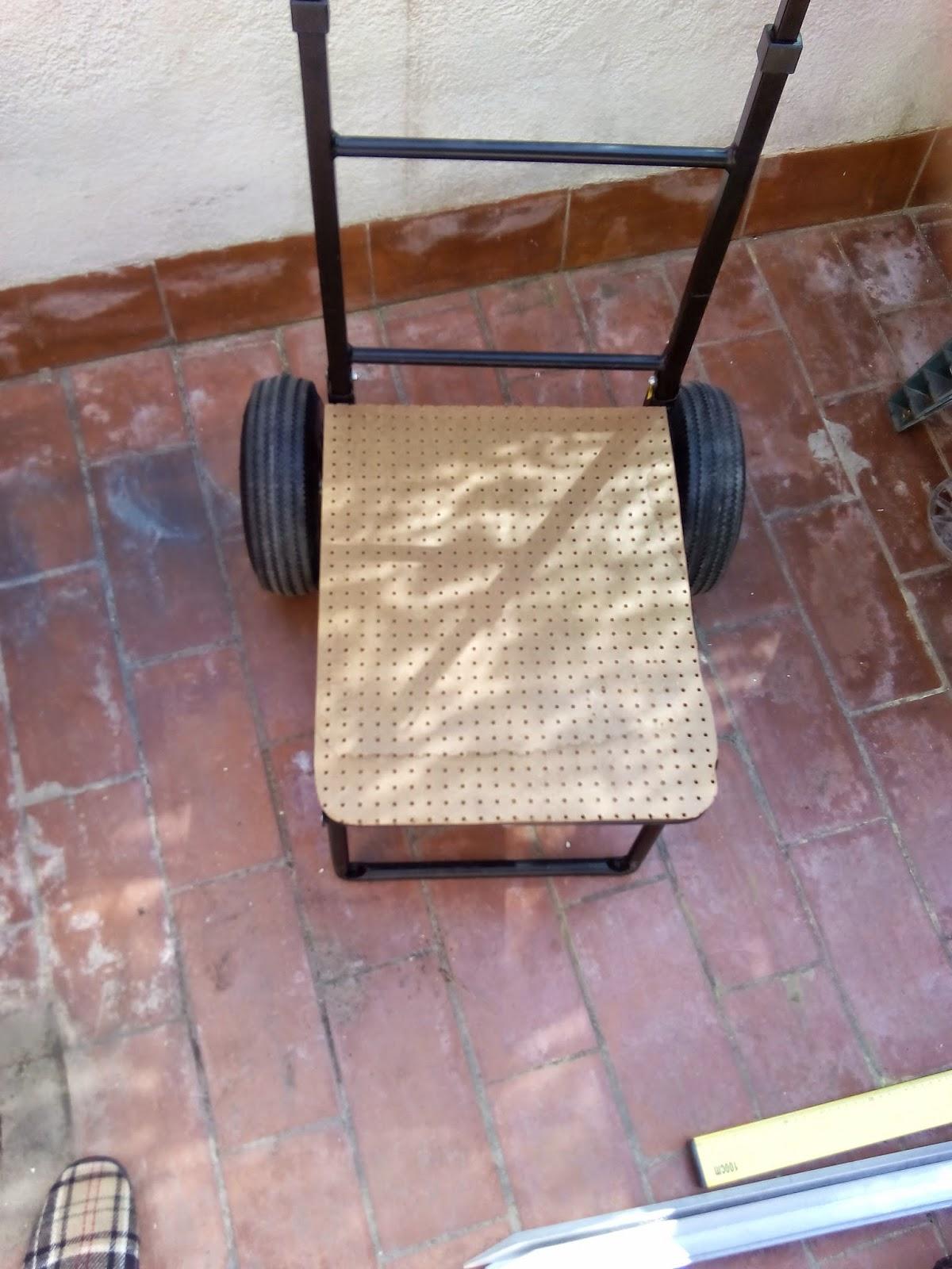 Bricolaje hazlo tu mismo silla en el carro de pesca - Silla de pescar ...