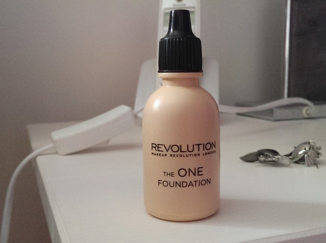 Makeup Revolution 'The One' foundation