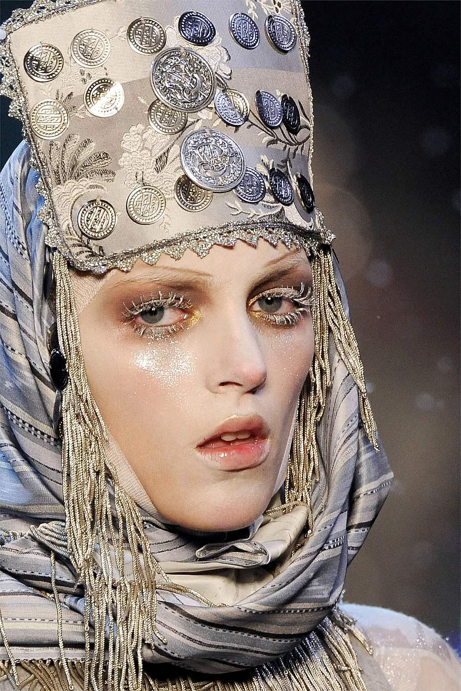 Русский стиль макияж фото