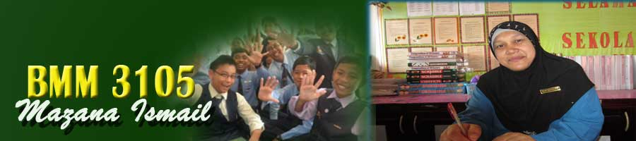 BMM 3105 Mazana Ismail