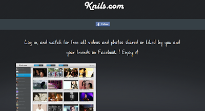 Knils, herramienta para Facebook para ver vídeos