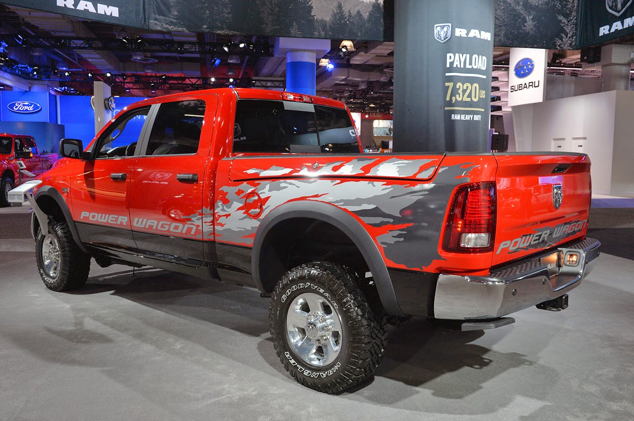 2014 Ram Power Wagon: New York 2014 Photos