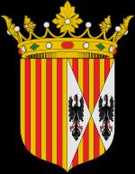 Armas de Aragón y Sicilia que pasaron al Escudo de los RRCC