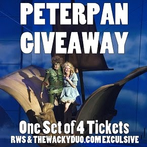 Peter Pan Tickets Giveaway