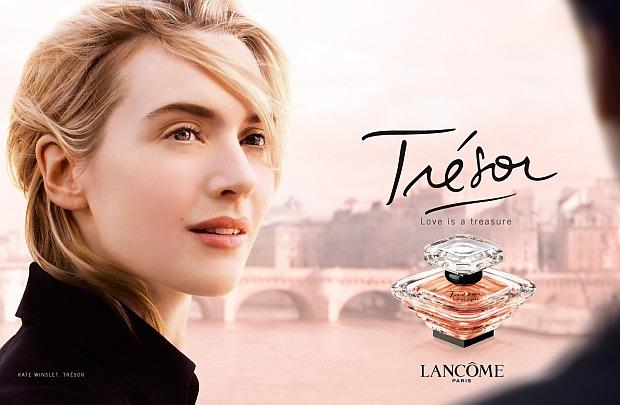 Kate Winslet w reklamie Lancome Tresor
