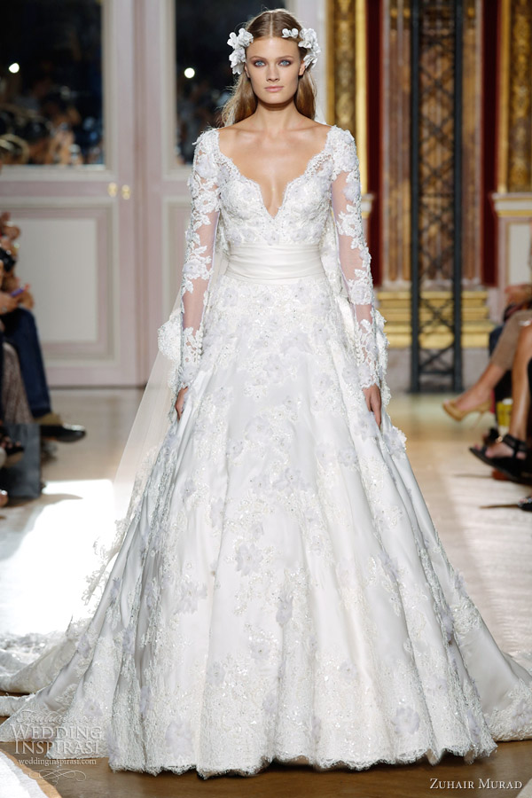 Zuhair Murad The Lace Collection Part 2 Veil And More