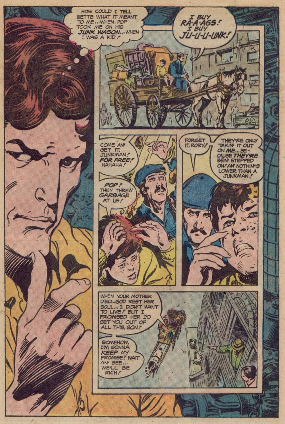 The Spooky Costume And 'somber Mask With Bottomless Sockets Of  Anguish' Wonder What Steve Gerber Would've Done With Him? Here's The Two  Part Origin: