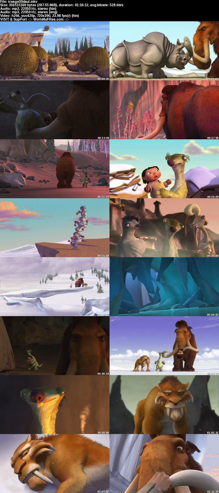 Images ice age mammoth cartoons.