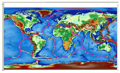 plader under kontinenter