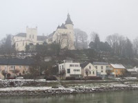 castle now a home of Hapsburg family