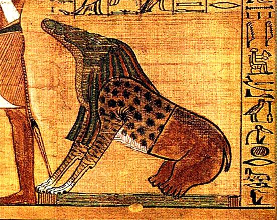 Ammit el demonio egipcio, pasá!