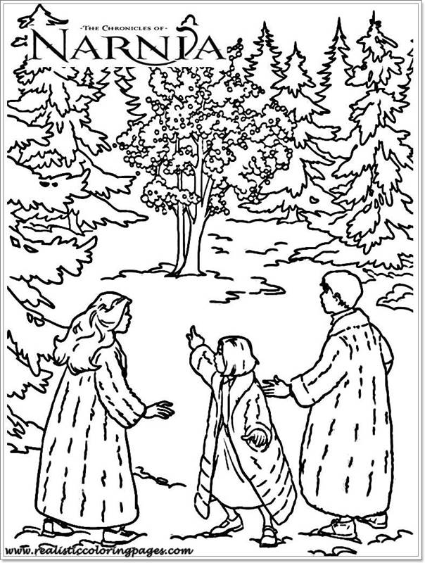 narnia coloring pages characters - photo#1